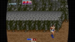SEGA MegaDrive & Genesis Classics Gameplay 1 - Golden Axe