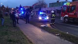 Wypadek w Obornikach Śląskich