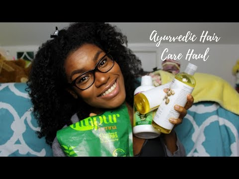 Ayurvedic Hair Care Haul | NEW PRODUCTS