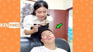 Funny videos 2021 ✦ Funny pranks try not to laugh challenge P269