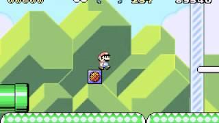 Super Mario Advance 2 - Super Mario World - Super Mario World (GBA) - World 1 - User video