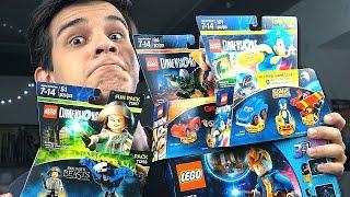 Распаковка LEGO Dimensions! - СОНИК и ТВАРИ