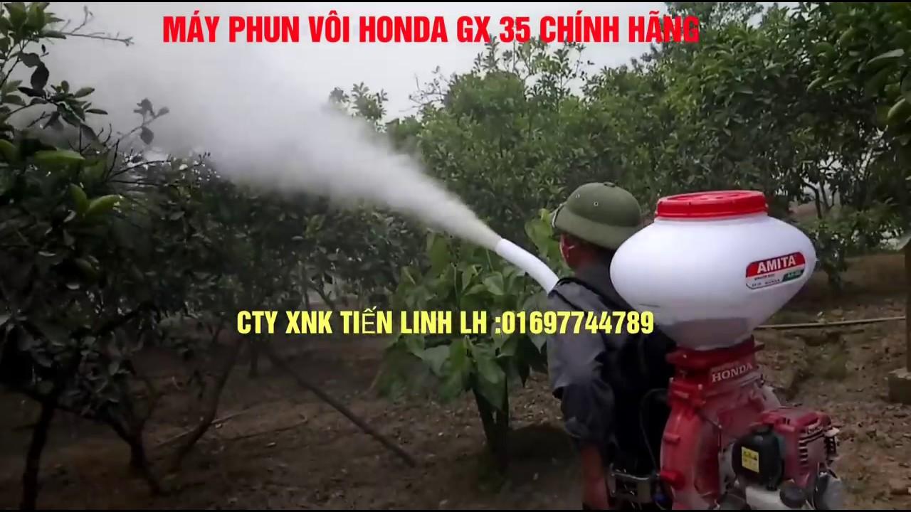 MÁY PHUN VÔI HONDA GX 35 MODEL MỚI NHẤT