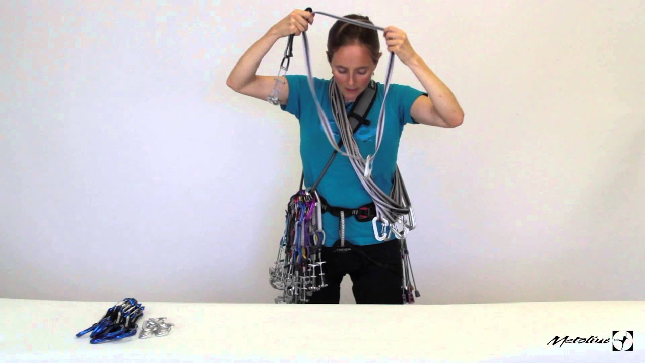 how to rack for trad climbing with beth rodden