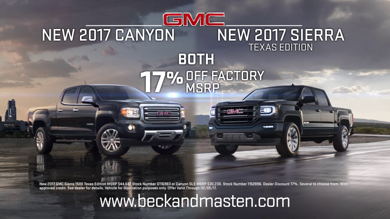 Beck Masten North   2017 Canyon   2017 Sierra Texas Edition   YouTube Beck Masten North   2017 Canyon   2017 Sierra Texas Edition