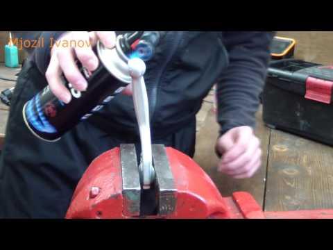 Ремонт и обслуживание мотоцикла: выпрямляем рычаг тормоза\сцепления