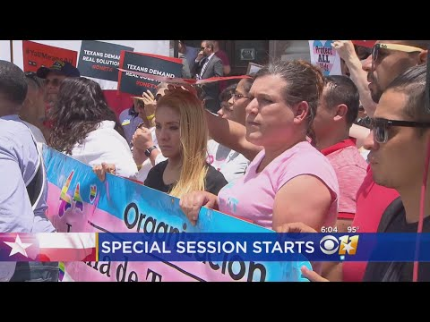 Texas Special Session Making National News
