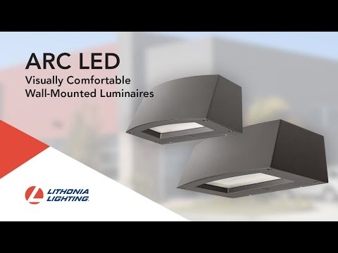 The Lithonia Lighting® ARC LED Wall Pack Luminaire