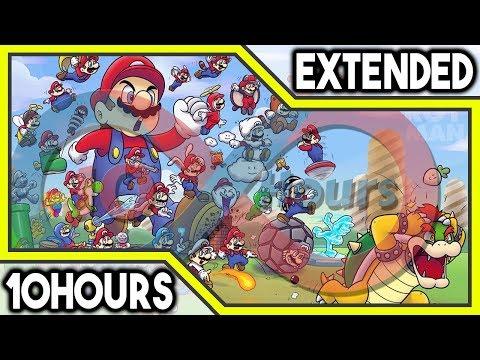 Super Mario World - Overworld Theme (GFM Trap Remix) 10 HOURS