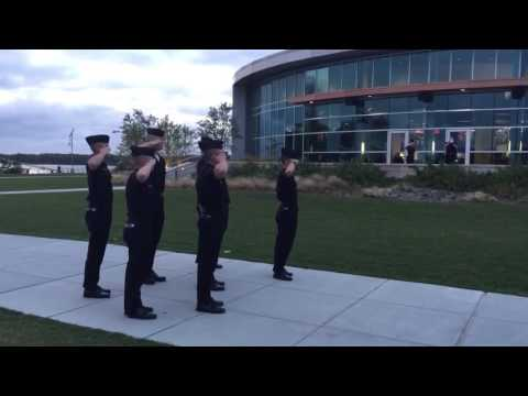 Massachusetts Maritime Academy - Evening Colors ( Retreat Ceremony)