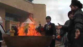 KALMYK DANCING, ELISTA, RUSSIA
