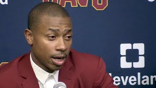 Isaiah Thomas introduced by Cleveland Cavaliers