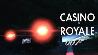 James Bond Casino Royale - Aston Martin Crash Scene - GTA 5 Remake