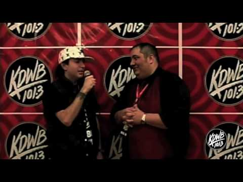 KDWB Star Party 2009 - Kevin Rudolf Interview