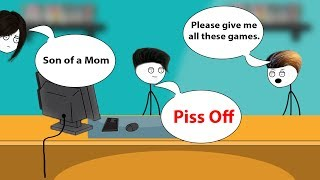 When a gamer's dad owns a Gaming Shop