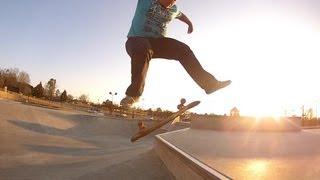 330lb Fat Guy Skateboarding 360-Flip, Grinds, Tricks