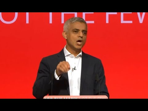 Sadiq Khan's powerful speech at the Labour party conference (09/25/2017)