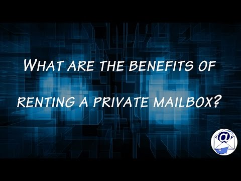 Benefits of Renting a Private Mailbox in Santa Monica CA