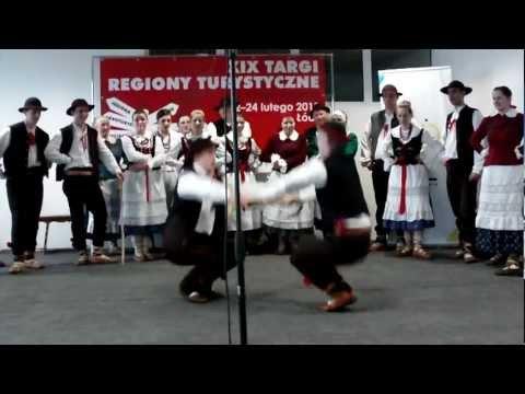 Piękna góralska muzyka i taniec - XIX Targi Turystyczne Łódź 2013 - cz 10