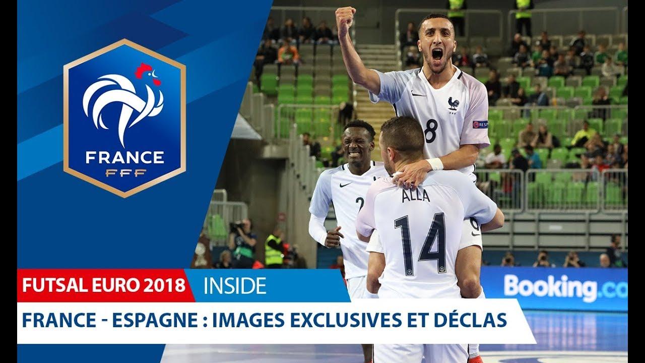 Futsal, Euro 2018 : France-Espagne (4-4), images exclusives et ...