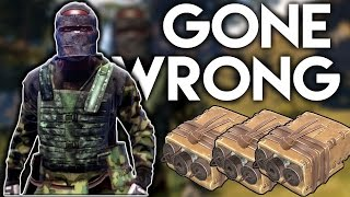 satchel raid gone wrong in the hood   rust co op survival