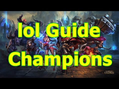 lol Guide #02 Champions/Lanes Patch 5.3 german