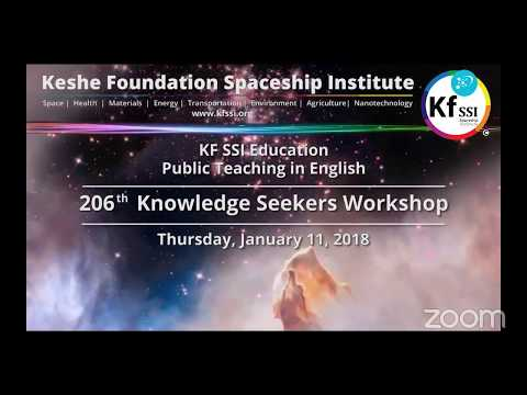 206th Knowledge Seekers Workshop Jan 11, 2017