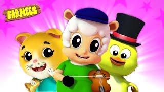 Top Nursery Rhymes | Animated Cartoon & Kids Songs | Videos For Children - Farmees