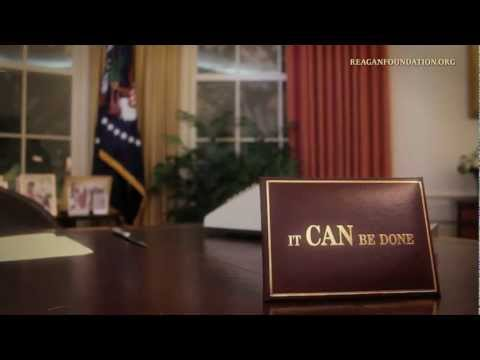 Inside the Reagan Library: The Oval Office