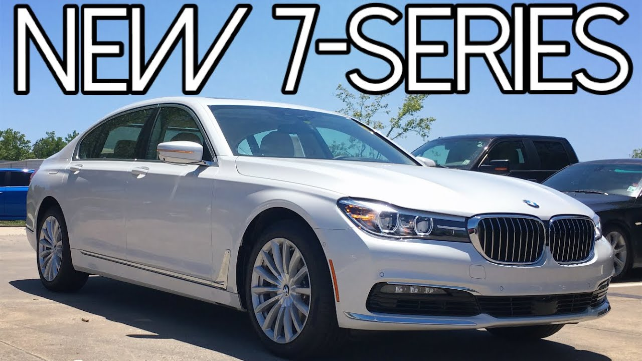 2016 Bmw 7 Series 740i Full Review Start Up Exhaust Youtube