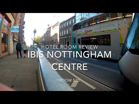 Hotel Room Review - IBIS Nottingham City Centre Room 520