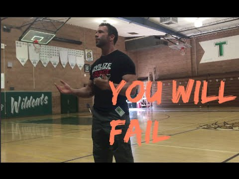 You Will Fail: Speaking to Students about Life and Success at 29 Palms High School