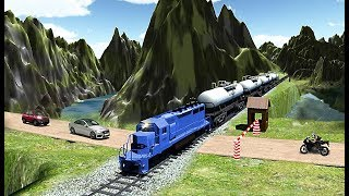 Oil Train Simulator 2019 - Level 4