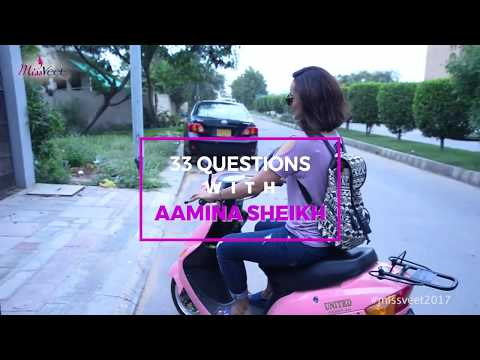 33 Questions with Aamina Sheikh