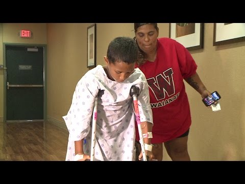 Boy describes Makaha shark attack: 'I didn't panic'