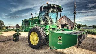 John Deere W260 Windrower Demo Arrival! - Sloan Implement
