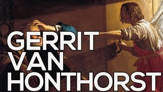 Gerrit van Honthorst: A collection of 131 paintings (HD)