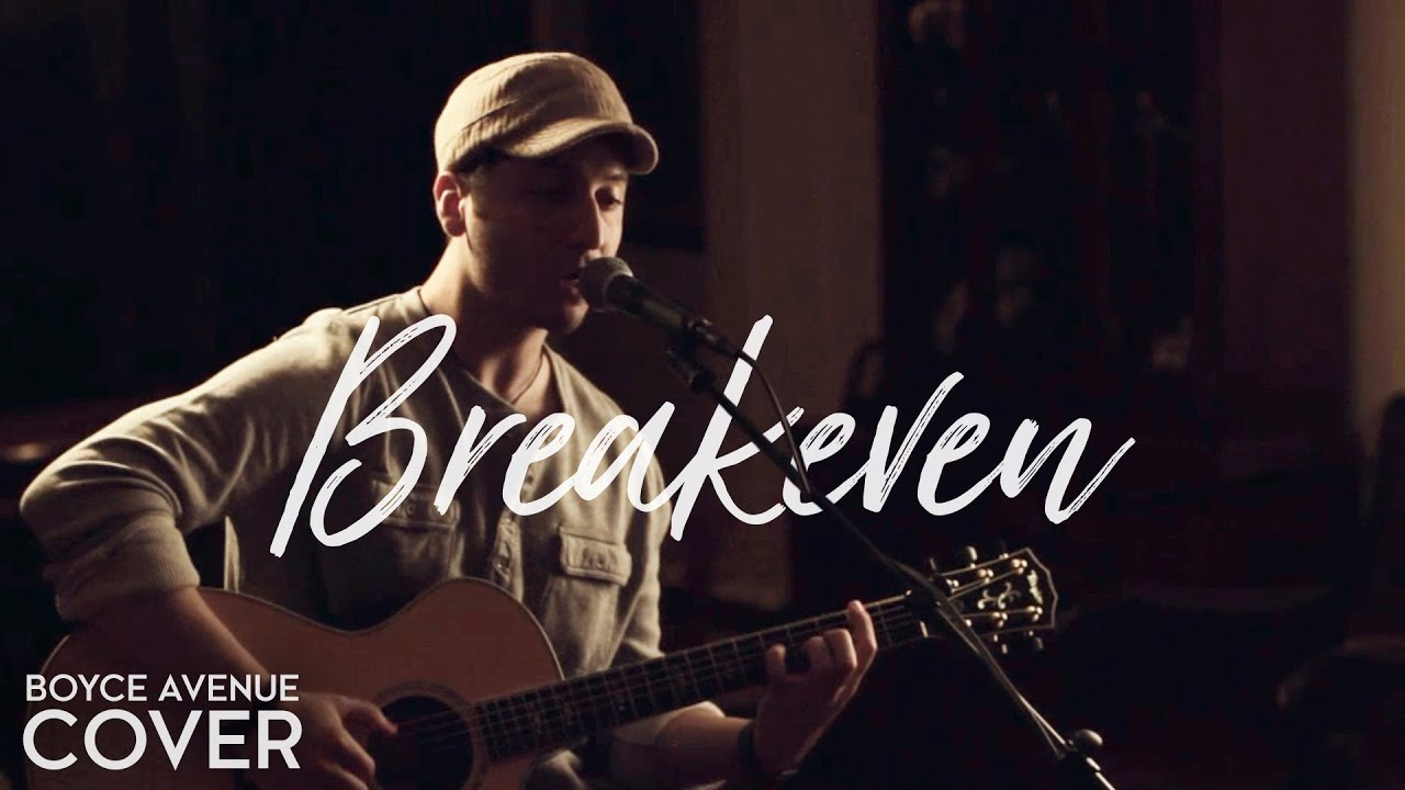 The Script - Breakeven (Boyce Avenue acoustic cover) on iTunes & Spotify