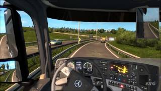 Mercedes-Benz New Actros (MP4) - Euro Truck Simulator 2 - Test Drive Gameplay (PC HD) [1080p]
