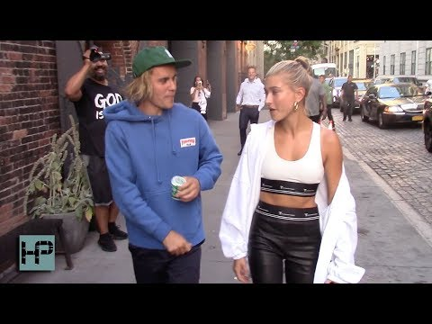 Newly Engaged Justin Bieber and Hailey Baldwin in Love in Brooklyn