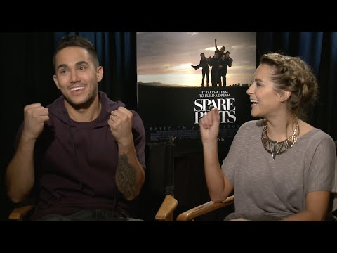 "Carlos and Alexa PenaVega Interview (""Spare Parts"")"