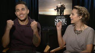 """Carlos and Alexa PenaVega Interview (""""Spare Parts"""")"""