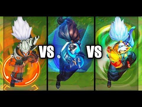 True Damage Yasuo Vs PROJECT: Yasuo Vs Odyssey Yasuo Epic Skins Comparison (League Of Legends)