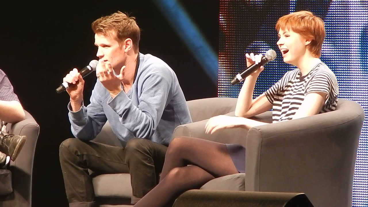 Matt Smith & Karen Gillan Q&A Calgary Comic Expo 2014 ...