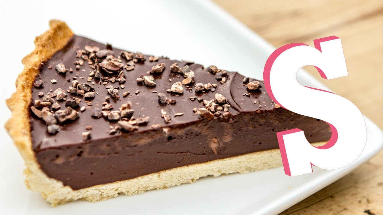 Classic Chocolate Tart Recipe - SORTED - YouTube