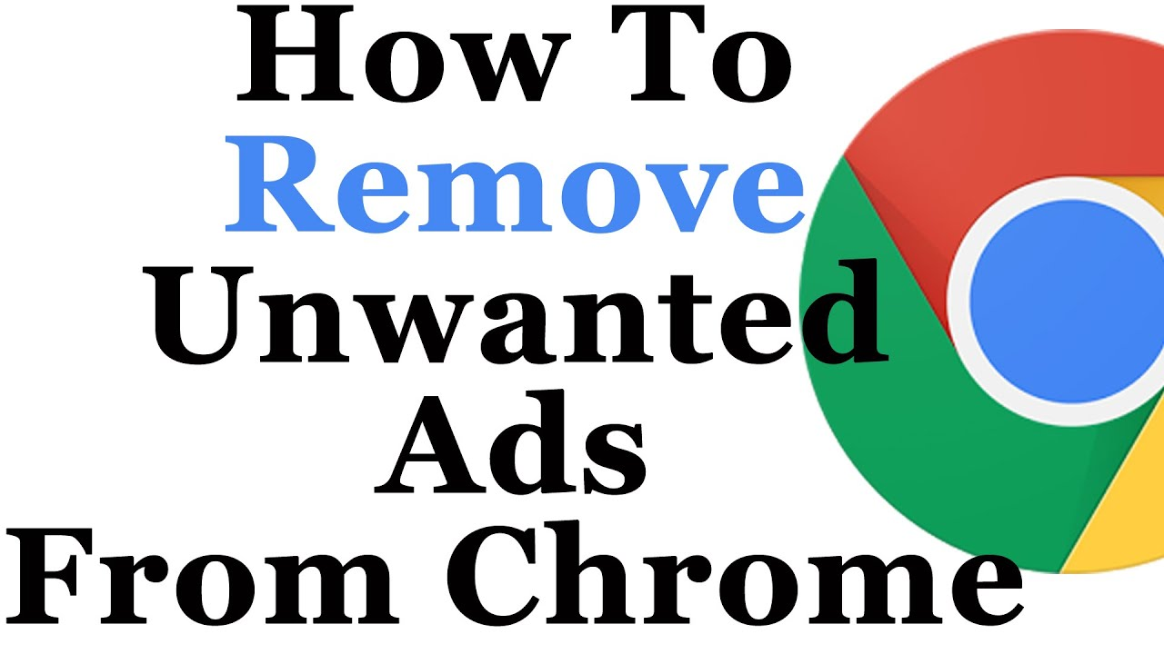 How to remove advertising 55
