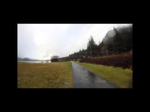 Juneau Alaska,  USA A Bike ride To the Mendenhall Glaicer,  Kimball Pipe organ B Part 1