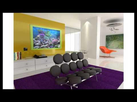Acquario terrario livingwall da parete video for Acquario da parete