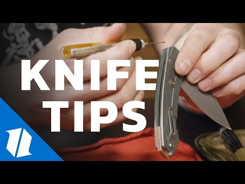 How to Maintain a Pocket Knife With Lucas Burnley