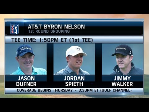 Morning Drive: AT&T Byron Nelson Tee Times 5/18/16